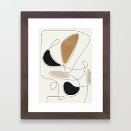 Thin Flow III Framed Art Print