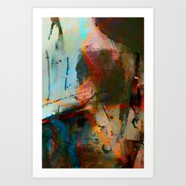 Frenemies  Art Print