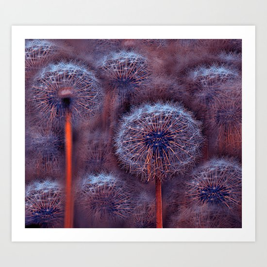 Floral abstract(5). Art Print