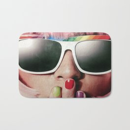 Carnaval girl Bath Mat