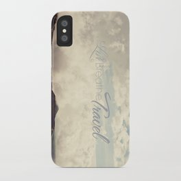 Live Breathe Travel - Mt Etna, Italy iPhone Case