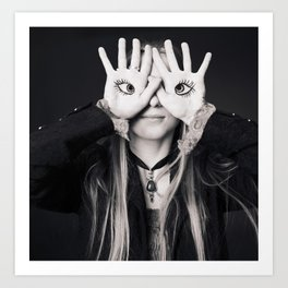 Eye Eye Art Print