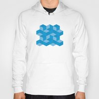 escher Hoodies featuring Escher #006 by rob art | simple