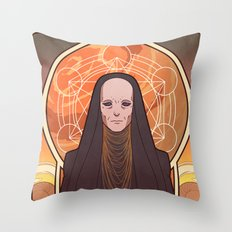 Reverend Mother Throw Pillow
