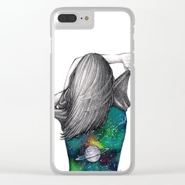 Every person is a world Clear iPhone Case
