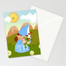 kissing the enchanted frog Stationery Cards