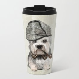 Sir Dandie Dinmont Terrier Metal Travel Mug