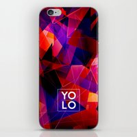 sayings iPhone & iPod Skins featuring Dreams of YOLO Vol.2 by HappyMelvin