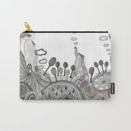 """""""Brown"""" illustration Carry-All Pouch"""