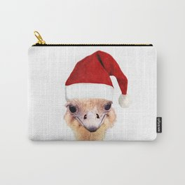Ostrich Christmas Carry-All Pouch