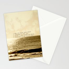 Where are you going Stationery Cards