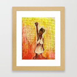 2011 Power to the People and Justice Framed Art Print