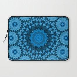 Kaleidoscope Blue level Laptop Sleeve