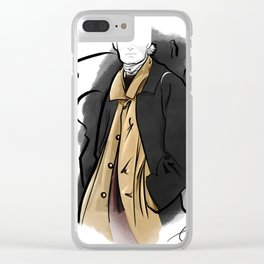 Trenchcoat Clear iPhone Case