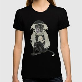 Colobus with the Sleeping Baby  T-shirt