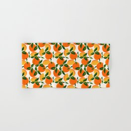 Oranges and Lemons Hand & Bath Towel
