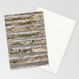 old stone staircase Stationery Cards
