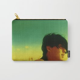 Asian Green and Yellow Carry-All Pouch