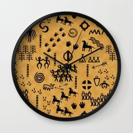 The People's story Wall Clock