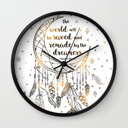 Saved and Remade Wall Clock