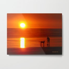 Kalaloch Sunset Metal Print