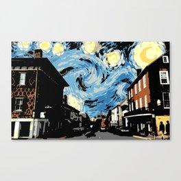 Main Street Lexington Starry Night Canvas Print