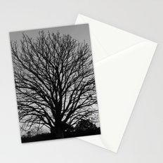 richmond park- b-w Stationery Cards