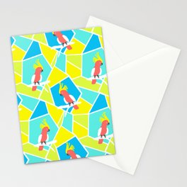 Bright Cockatoo Stationery Cards