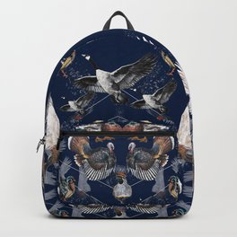 Up, Bird! Print Backpack