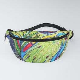 Peacock In Dreamland Fanny Pack