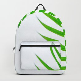 Simple palm leaves Backpack