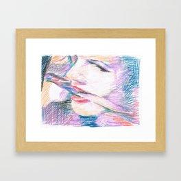 Chouchou 5 Framed Art Print