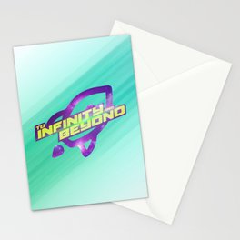 To Infinity and Beyond Stationery Cards