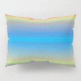 Color Bars Pillow Sham