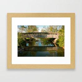 Switzer Bridge Framed Art Print
