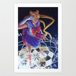 Sailor Moon Art Print