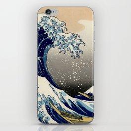 The Great Wave off Kanagawa Hokusai iPhone Skin