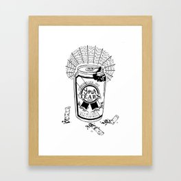 No Actual Tears Were Used Framed Art Print