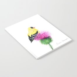Little Goldfinch by Teresa Thompson Notebook