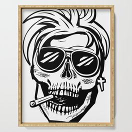 Skull Head - Cool Serving Tray