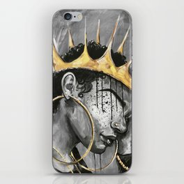 Naturally Queen X iPhone Skin