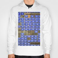 numbers Hoodies featuring Numbers by Marieken