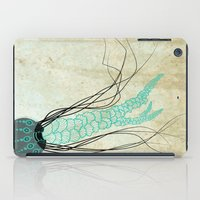 jelly fish iPad Cases featuring Jelly Fish  by Greenwell Art