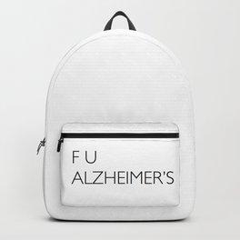 F U ALZHEIMER'S Backpack