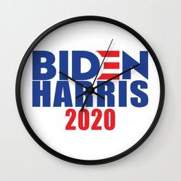 Biden Harris 2020 Wall Clock