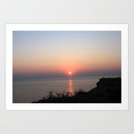 Menorca Sunset Art Print
