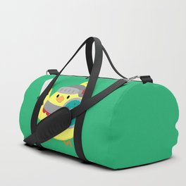 I Am Not A Chicken But A Brave Knight Duffle Bag