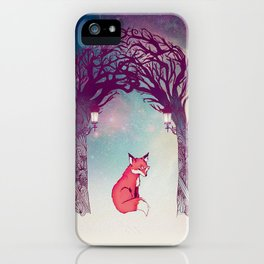 Fox in the Forest iPhone Case