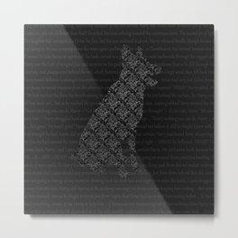 Marauders-Padfoot Metal Print