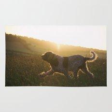 Brown Roan Italian Spinone Dog Rug